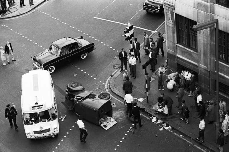 Colin O'Brien - Accident, Day - Clerkenwell, London, 1959