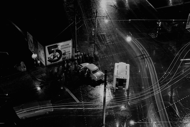 Colin O'Brien - Accident, Night - Clerkenwell, London, 1959