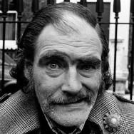 Colin O'Brien - Smiling Man, Upper Street, Islington, 1980's