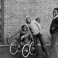 Colin O'Brien - ids with Pram Wheels - Wandsworth 1988