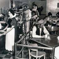 Disneyland's backstage cafeteria, 1961
