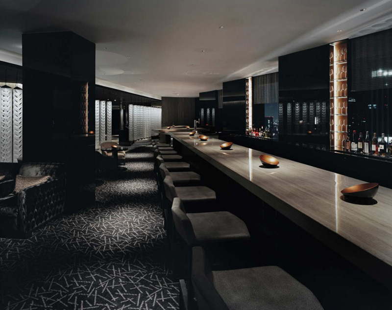 ... Tokyo Gwenael Nicolas MIXX Bar And Lounge Interior Design At The ANA  Intercontinental Hotel, ...