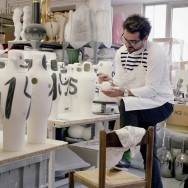 Jaime Hayon - BD Barcelona Design 40th anniversary - at the workshop
