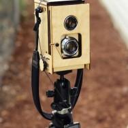 Kevin Kadooka - Wooden Polaroid TLR Prototype