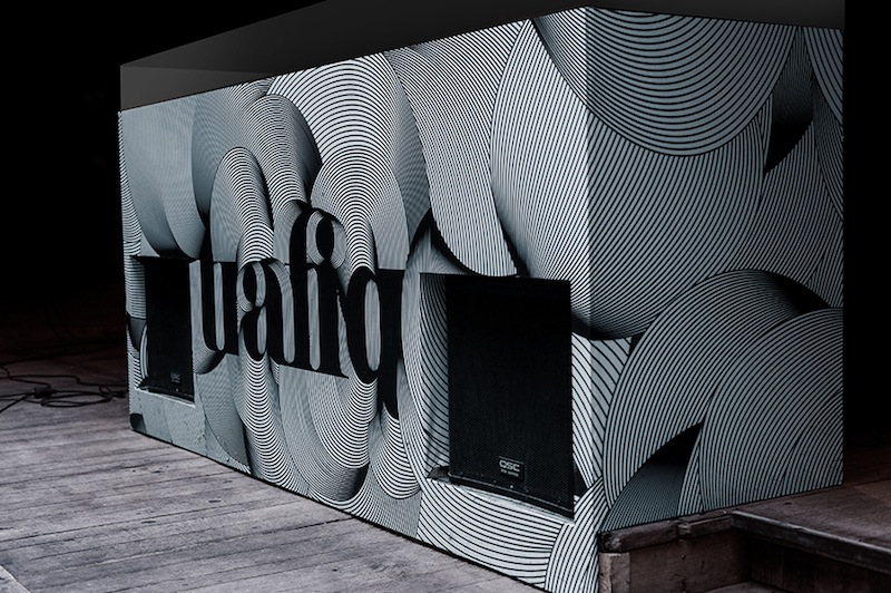 Miklos Kiss - Identity, Branding and Packaging for the Trafiq bar, Budapest BuildingGraphics