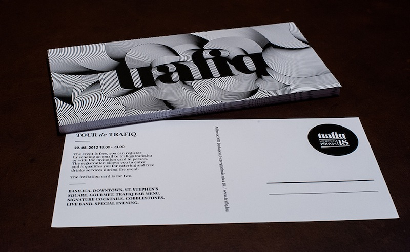 Miklos Kiss - Identity, Branding and Packaging for the Trafiq bar, Budapest Identity