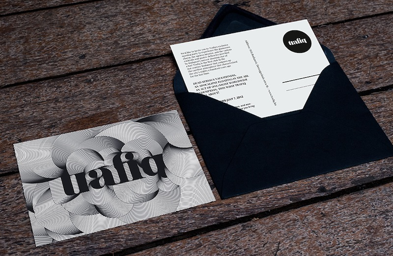 Miklos Kiss - Identity, Branding and Packaging for the Trafiq bar, Budapest Packaging