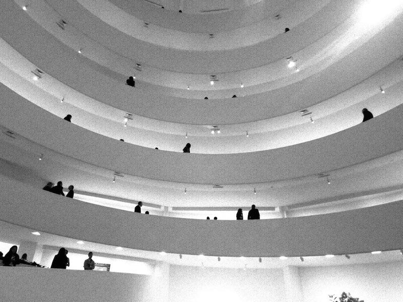 Solomon R. Guggenheim Museum Unique Spiral Staircase, New York City