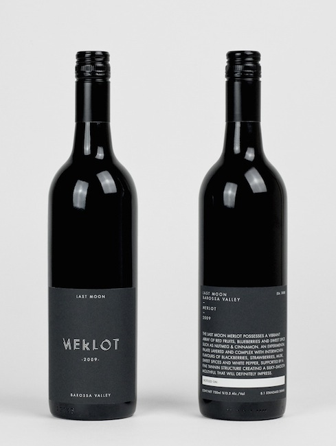 Tomas Sabbatucci - Last Moon Winery Identity and Packaging