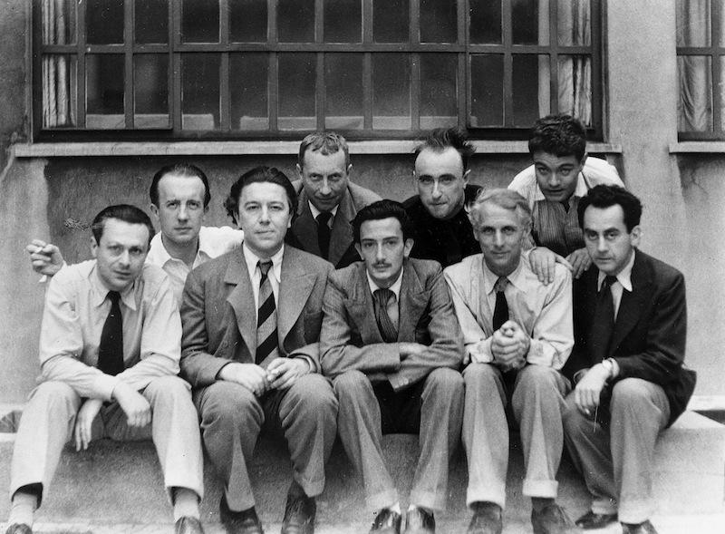 Anna Riwkin-Brick - The Paris Surrealists Tristan Tzara, Paul Éluard, André Breton, Hans Arp, Salvador Dalí, Yves Tanguy, Max Ernst, René Crevel and Man Ray, 1933