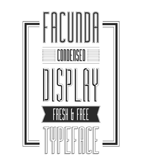 Bu studio - Facunda font
