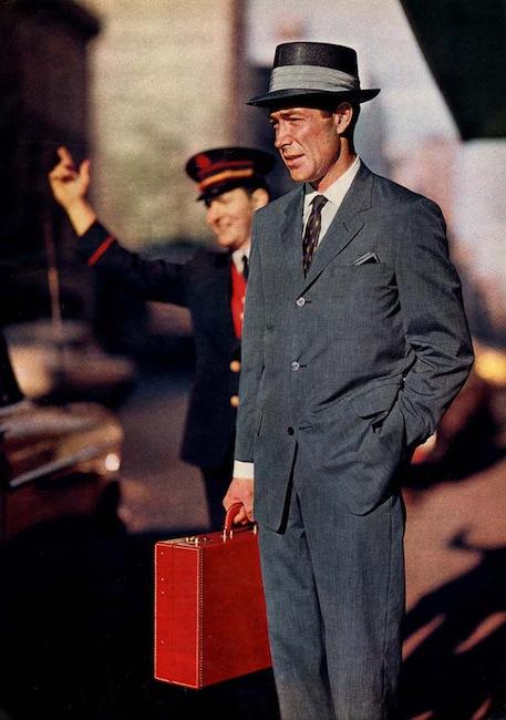 Gatekeeper hail a cab for a gentleman