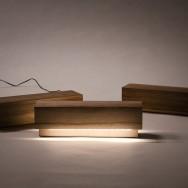 Log Lamp by Olli Mustikainen and Jari Nyman