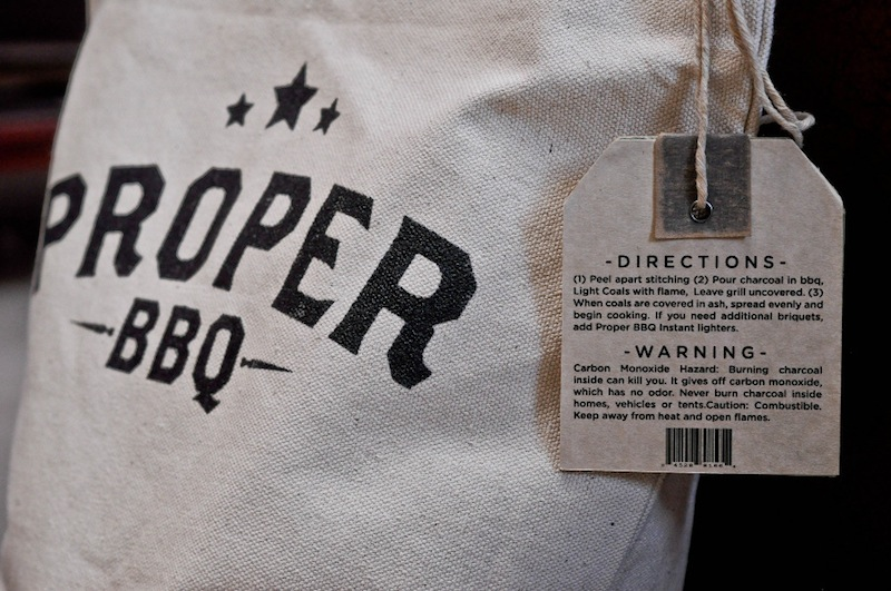 Thomas Hayes - branding project for Proper BBQ products