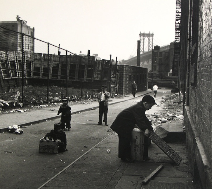 Rebecca Lepkoff - Lower East Side in the 1940s