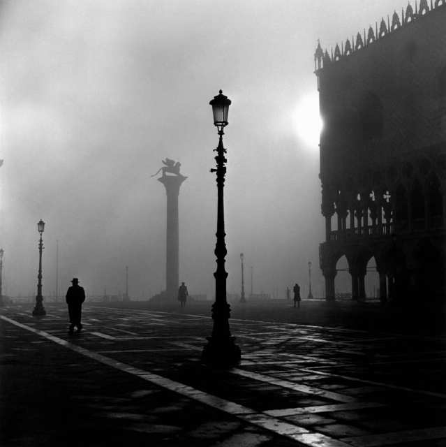 -Untitled- (St. Mark's Square, Venice, Italy) by David Seymour, 1967 (for Magnum photos)