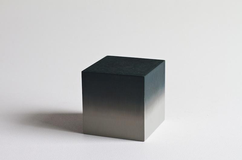 Miya Ando - Miya Ando - Lumina Cube Black (Hand dyed, solid aluminum)-14 copie