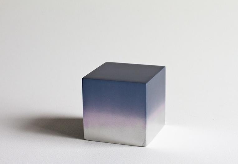 Miya Ando - Reflection Cube Black Lilac