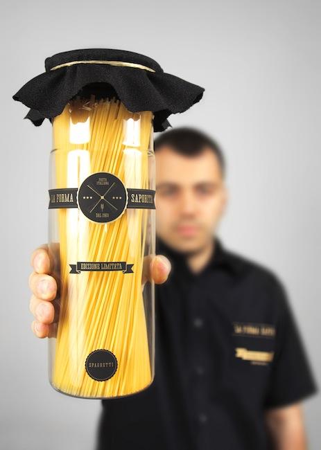 Yanko Djarov - branding for non-existent pasta manufacturer La Forma Saporita