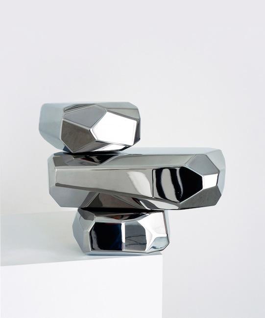 Arik Levy - Microrocks - Mitterrand + Cramer Gallery, Geneva 2010
