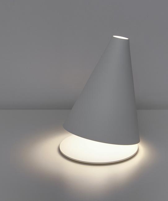 Federico Delrosso - Palpebra table lamp for Davide Groppi, 2009