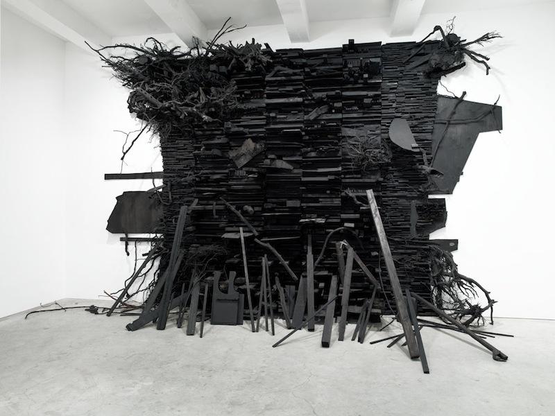 Leonardo Drew - Number 134, Sikkema Jenkins & Co. Gallery (2009)
