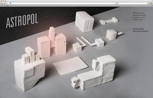 Lina Forsgren - branding for band Astropol, 2012