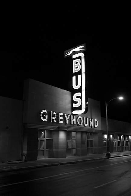 Terry Richardson - Greyhound Bus station in Oakland