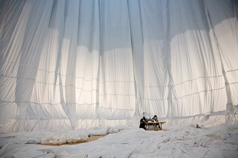 Christo and Jeanne-Claude - Big Air Package, 2010-2013