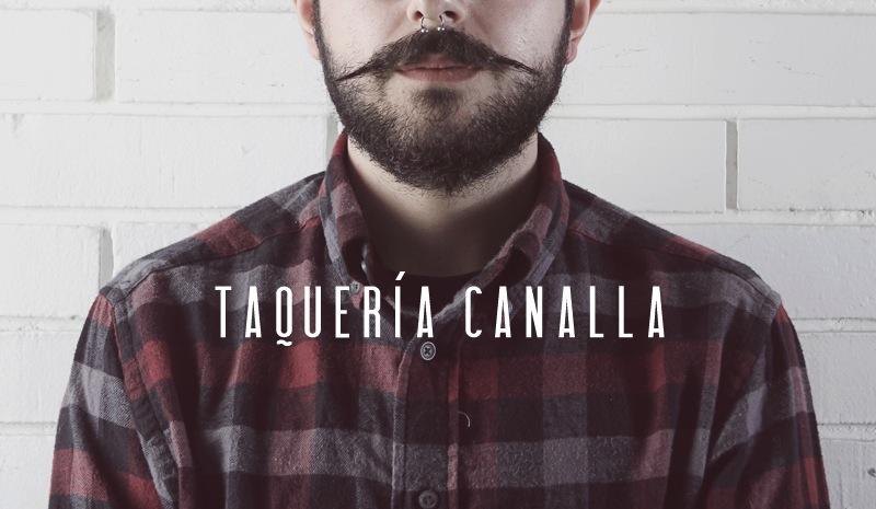 Manifiesto Futura - Identity for Taqueria Canalla, 2011