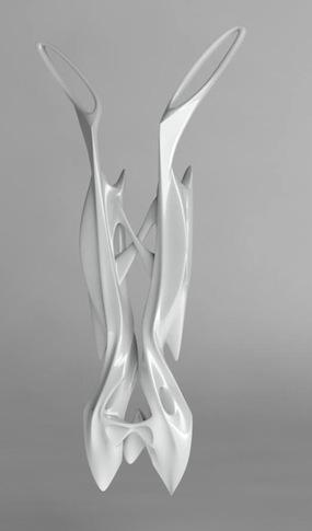 Vuk Dedier - Aluminium 3D printed piece