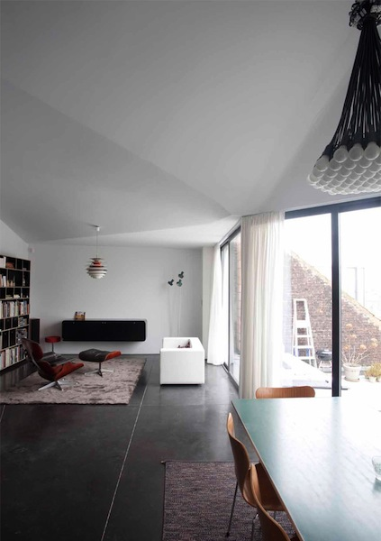 lhoas and lhoas Architects - C_C House, Brussels, Belgium