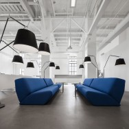 Atelier Moderno Architects - Blue Communication Agency office, Montreal