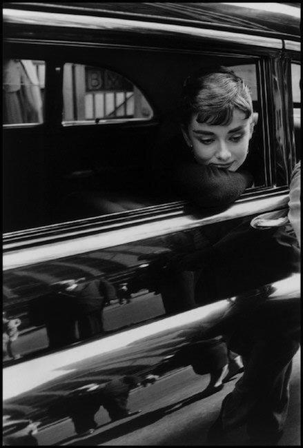 Audrey Hepburn by Dennis Stock, NYC, 1954