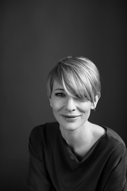 Australian actress Cate Blanchett by Hugh Stewart