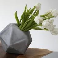 Christian Wassmann - Icosahedron vase, 2013