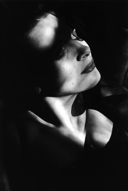 French actress Juliette Binoche by Edouard Boubat, 1995