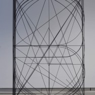 Koen Taselaar - Untitled (steel and paint, 270 x 180 x 90 cm)