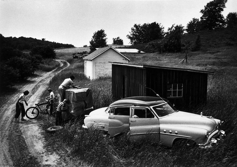 The Miller family, migrant workers by W. Eugene Smith, Michigan, 1953