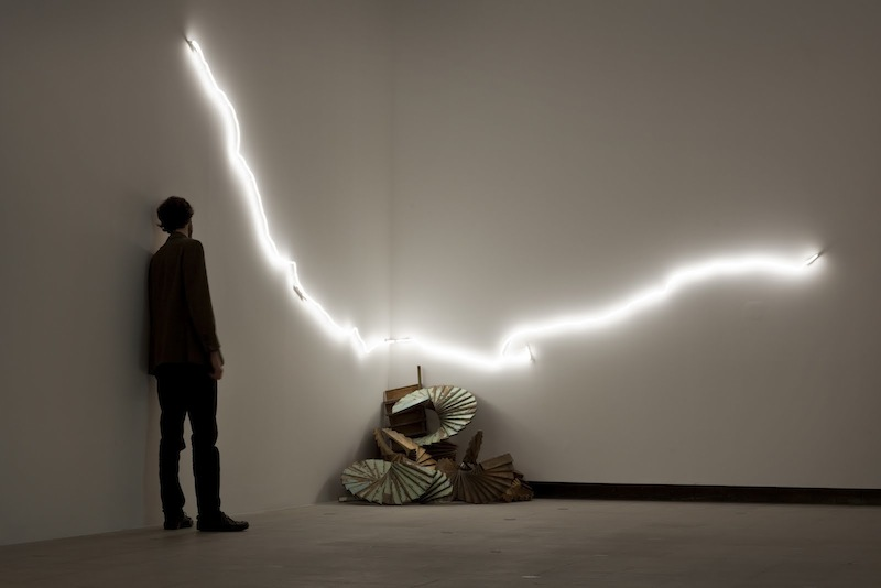 Tracey Emin - Powerful ... Sleeping With You - Love is What You Want - Hayward Gallery, 2011