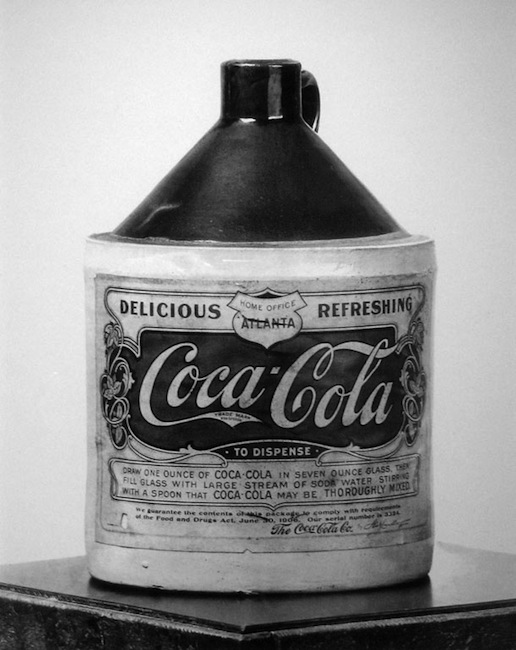 An old jar of Coca-Cola powder