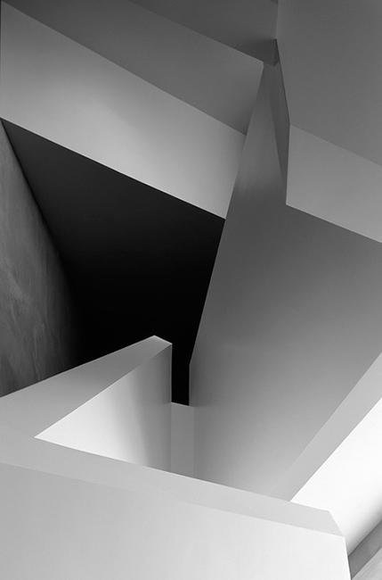 Angles in a contemporary interior