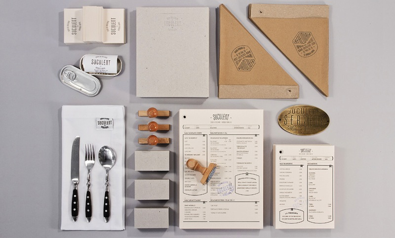 Branding by Comité Studio for Succulent restaurant