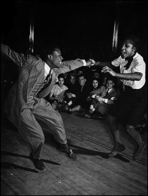 Savoy Ballroom in Harlem, photo by Cornell Capa, New York City, 1939