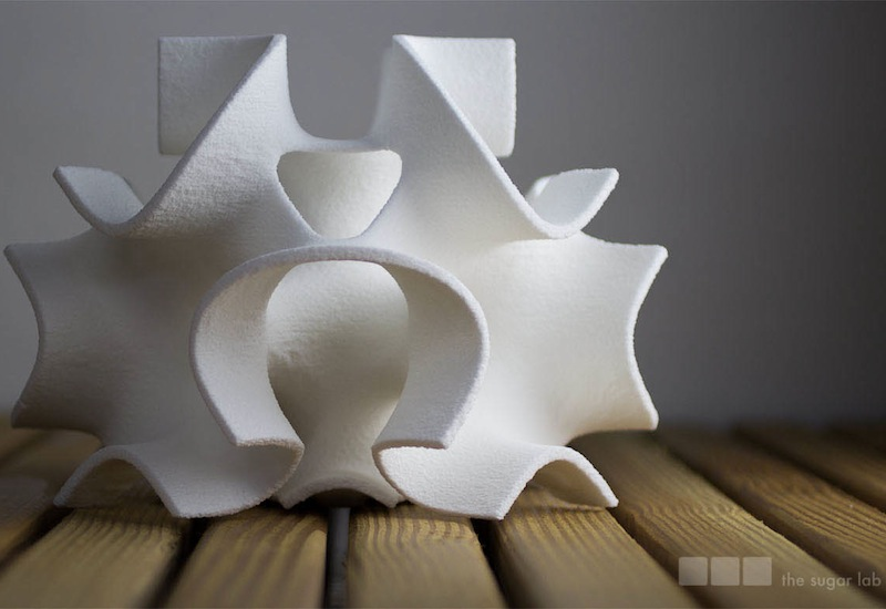 The Sugar Lab - 3D printed sugar