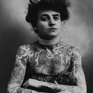 Maud Wagner - circus performer (aerialist and contortionist) and tattoo artist, 1911