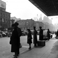Scene in New York City, 1944 by William Shrout