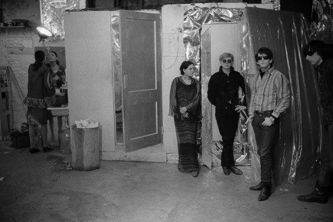 Stephen Shore - Benedetta Barzini, Julie Garfield, Warhol, Reed and Morrison