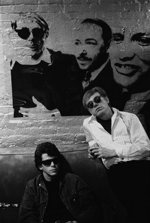 Stephen Shore - Lou Reed and Andy Warhol