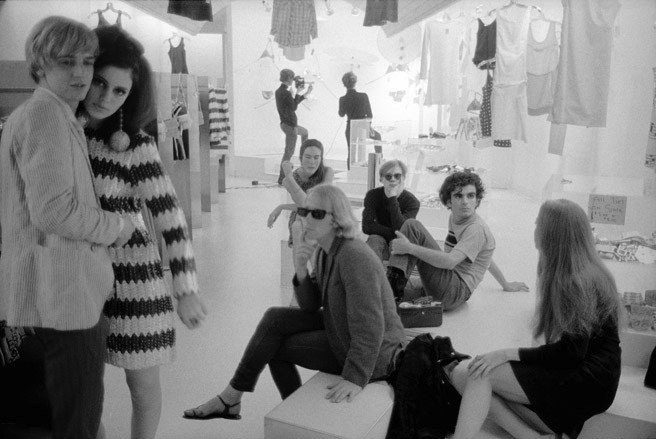 Stephen Shore - Rene Ricard, Susan Bottomly, Eric Emerson, Mary Woronov, Andy Warhol, Ronnie Cutrone, Paul Morrissey and Edie Sedgwick
